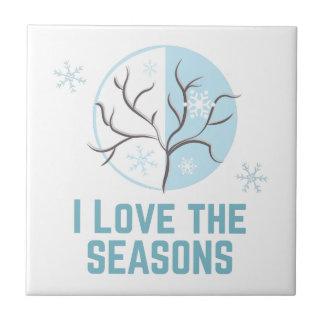 Love The Seasons Tile