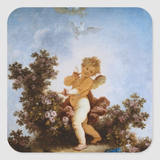 Love the Sentinel by Jean Honore Fragonard Sticker