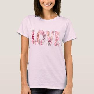 Love the Shakespeare way text art T-Shirt