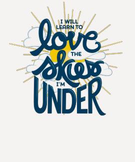 Love the Skies - 3/4 Sleeve T-shirt