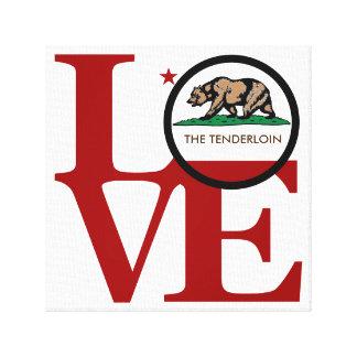 LOVE The Tenderloin Canvas Print