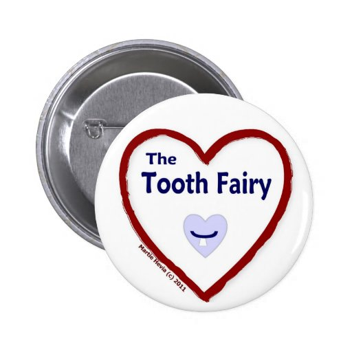 Love The Tooth Fairy Buttons