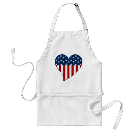 Love the USA Adult Apron