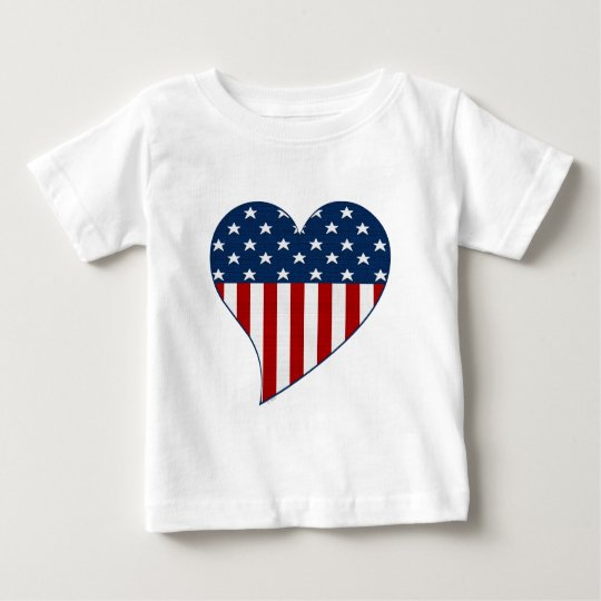 Love the USA Baby T-Shirt