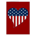 Love the USA Greeting Card