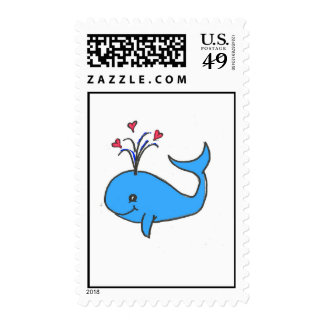 Love the Whale Stamp