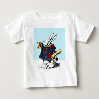 Love the White Rabbit Alice in Wonderland Baby T-Shirt