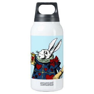 Love the White Rabbit Alice in Wonderland 10 Oz Insulated SIGG Thermos Water Bottle