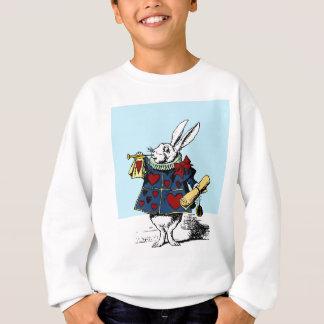 Love the White Rabbit Alice in Wonderland Sweatshirt