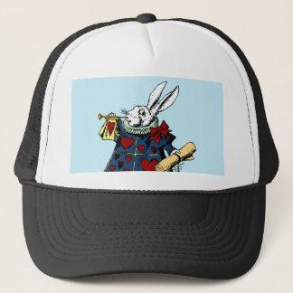 Love the White Rabbit Alice in Wonderland Trucker Hat