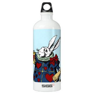 Love the White Rabbit Alice in Wonderland Water Bottle