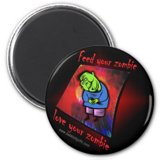 Love the Zombie... Magnet