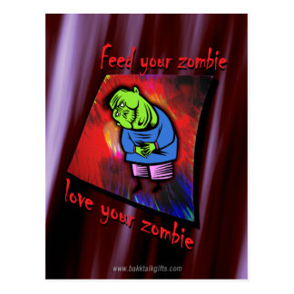Love the Zombie... Postcard