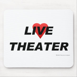 Love Theater Mouse Pad