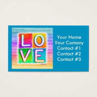LOVE Themed Business Cards