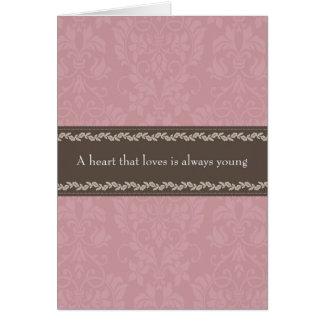 Love Themed Greetings Card