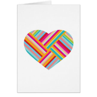 Love Themed, Heart Greetings Card