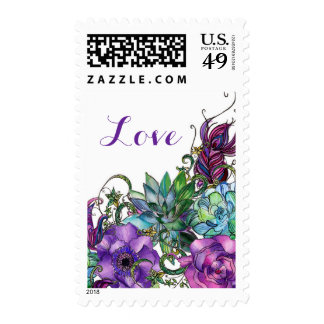 Love these Blooms Postage