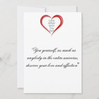 Love they Self Thank you Card