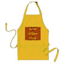 """Love Thine Chef"" apron"
