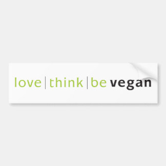love think be bumper stickers