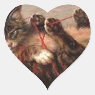 Love this cuddly bundle of fur! heart sticker