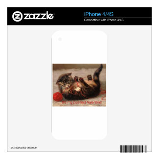 Love this cuddly bundle of fur! decals for iPhone 4S