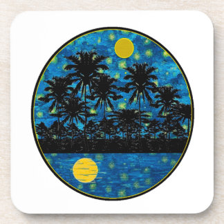 LOVE THIS EVENING DRINK COASTER