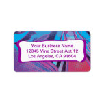 Love this Rockin' Rainbow Abstract Comic Pattern Personalized Address Labels