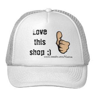 Love this shop ;), www.zazzle.com/KLaima Mesh Hat