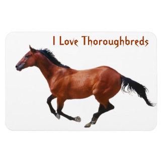 Love Thoroughbreds Premium Magnet