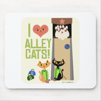 Love Those Alley Cats Mouse Pad