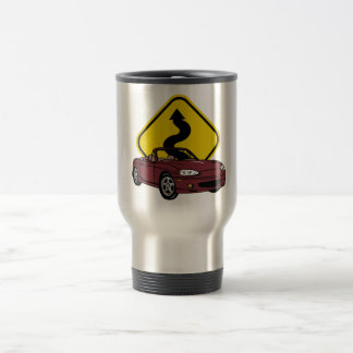 Love those Curves!-copper 15 Oz Stainless Steel Travel Mug