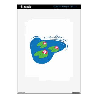 Love Those Lilypads Skin For iPad 3
