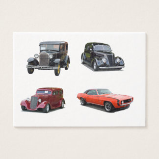 Love Those Old Classic Cars Business Card