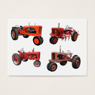 Love Those Old Red Tractors Business Card