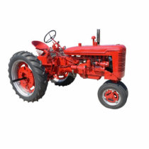 love those old red tractors cutout