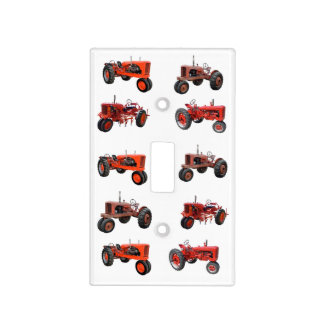 Love Those Old Red Tractors Light Switch Cover