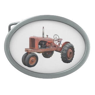 Love Those Old Rusty Tractors Belt Buckle