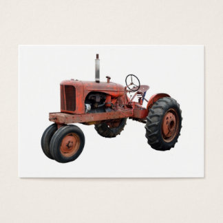 Love Those Old Rusty Tractors Business Card
