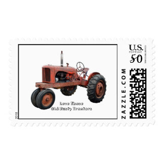 Love Those Old Rusty Tractors Postage