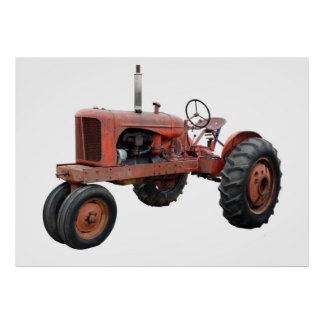 Love Those Old Rusty Tractors Poster
