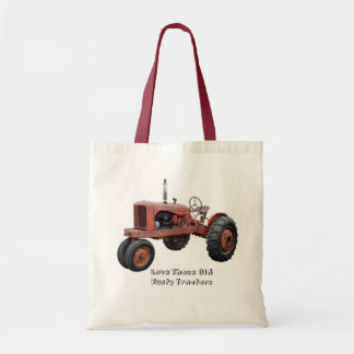 Love Those Old Rusty Tractors Tote Bag