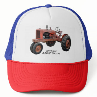 Love Those Old Rusty Tractors Trucker Hat