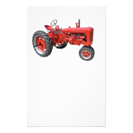"love those old tractors 5.5"" x 8.5"" flyer"
