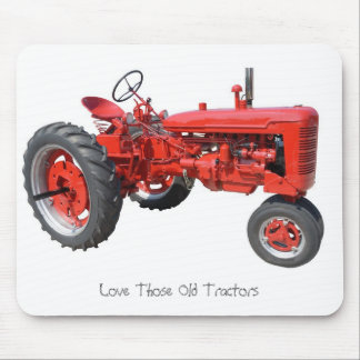 Love Those Old Tractors Mouse Pad