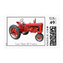 Love Those Old Tractors Postage