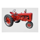 Love those old tractors poster