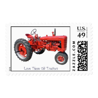 Love Those Old Tractors Stamp