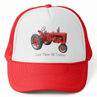 Love Those Old Tractors Trucker Hat